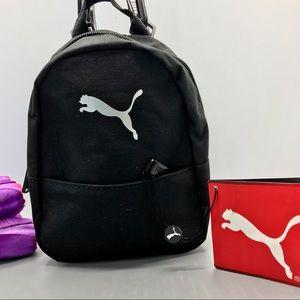 Puma commute super mini crossbody backpack black